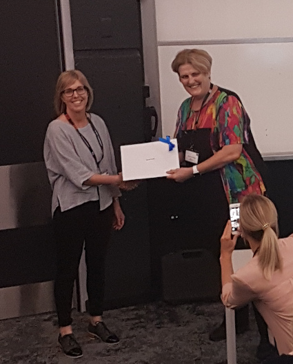 Award Winner – Kathryn Hay of Massey University